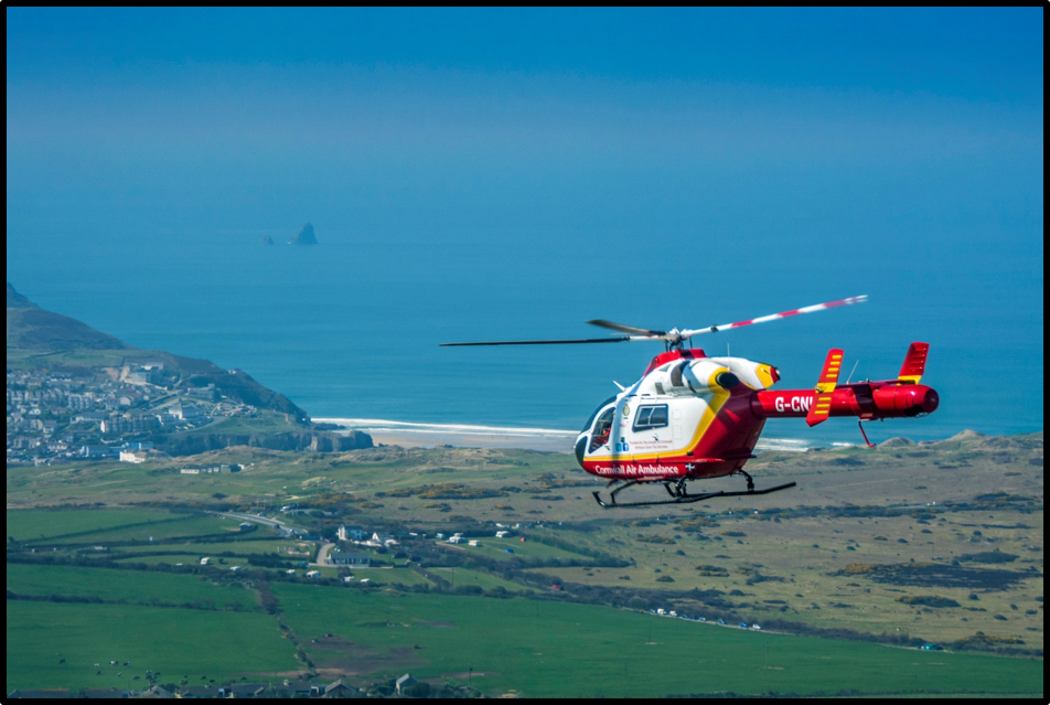 it support for cornwall air ambulance