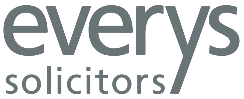 Everys Solicitors grey logo