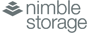 nimble storage grey logo